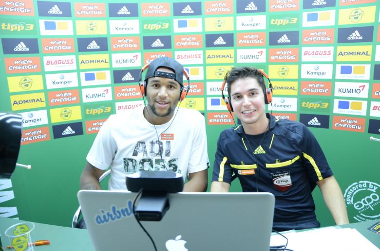 Der SK Rapid Wien im Hangout!!
