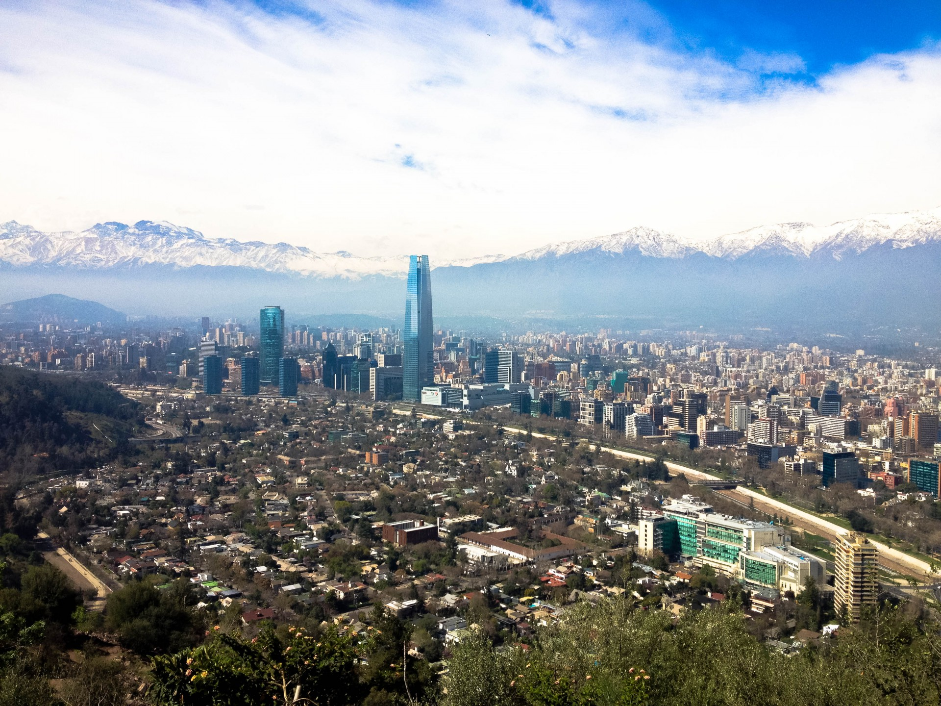 Pensamiento: It's always warm in Chile – NOT