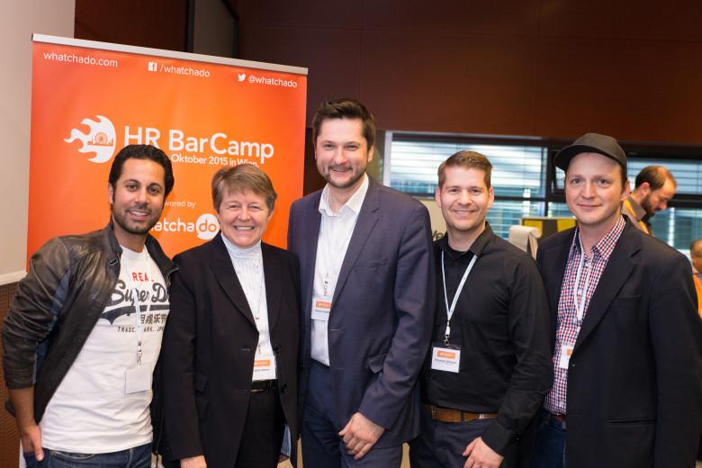 Das war das erste HR BarCamp Österreichs!