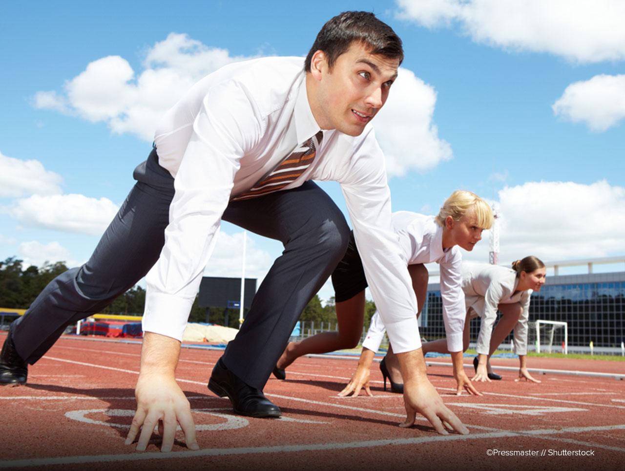 start-rennen-businessmen