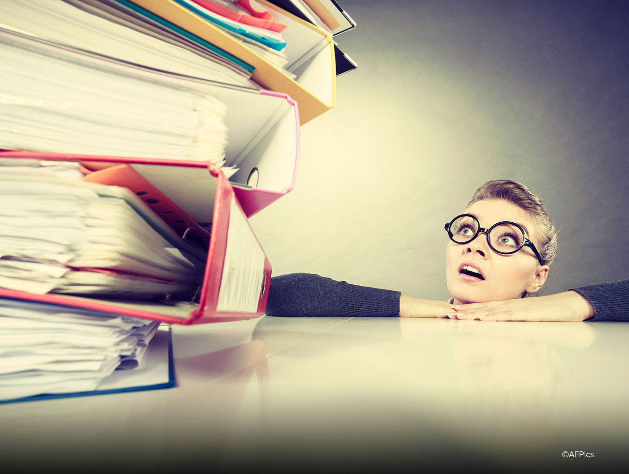 zu großer Workload kann zu Burnout führen