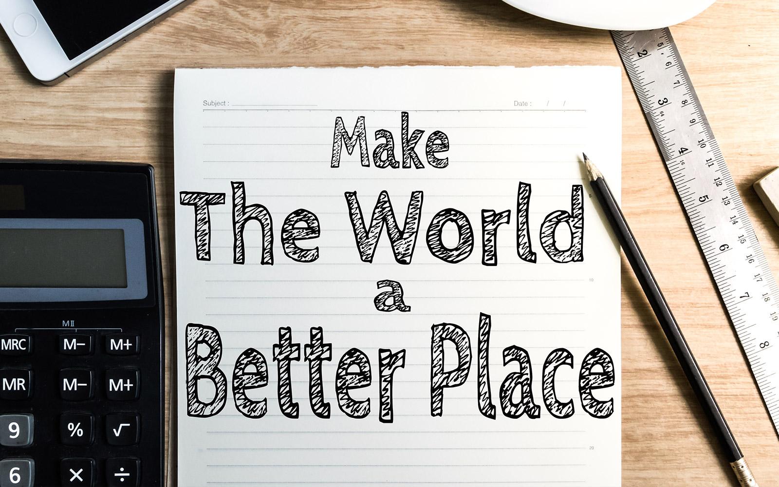 10 Lifehacks, um vom Büro aus die Welt zu retten
