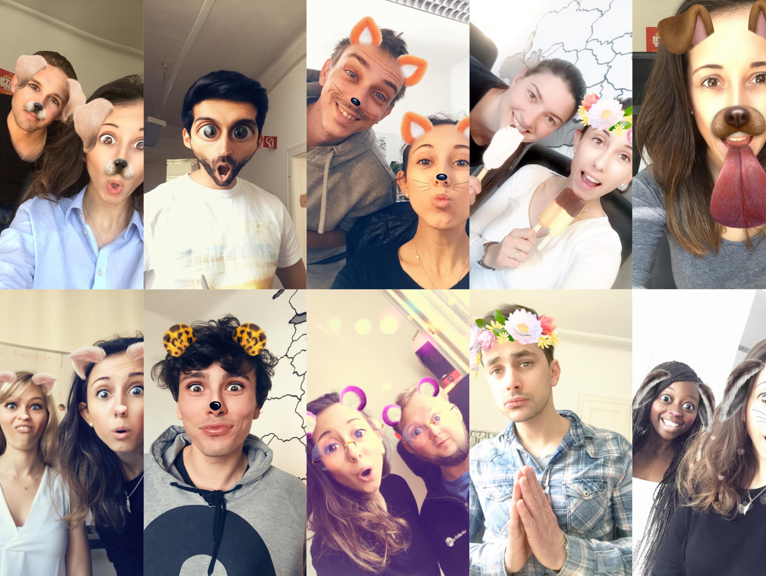Filter Snapchat