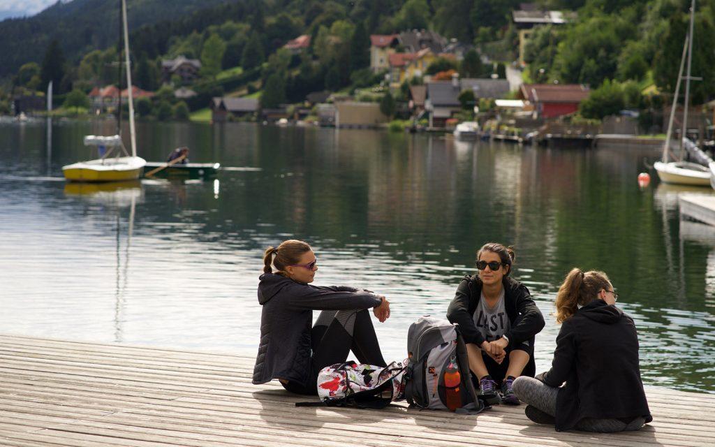 Das Team am See