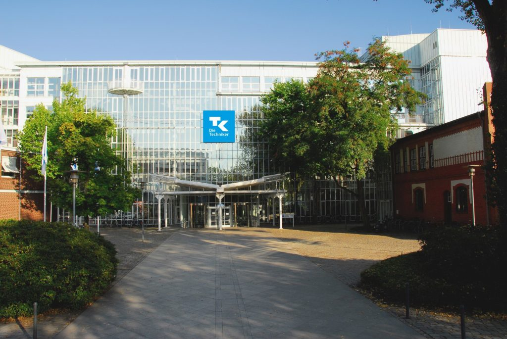 Titelbild Eingang Hauptverwaltung